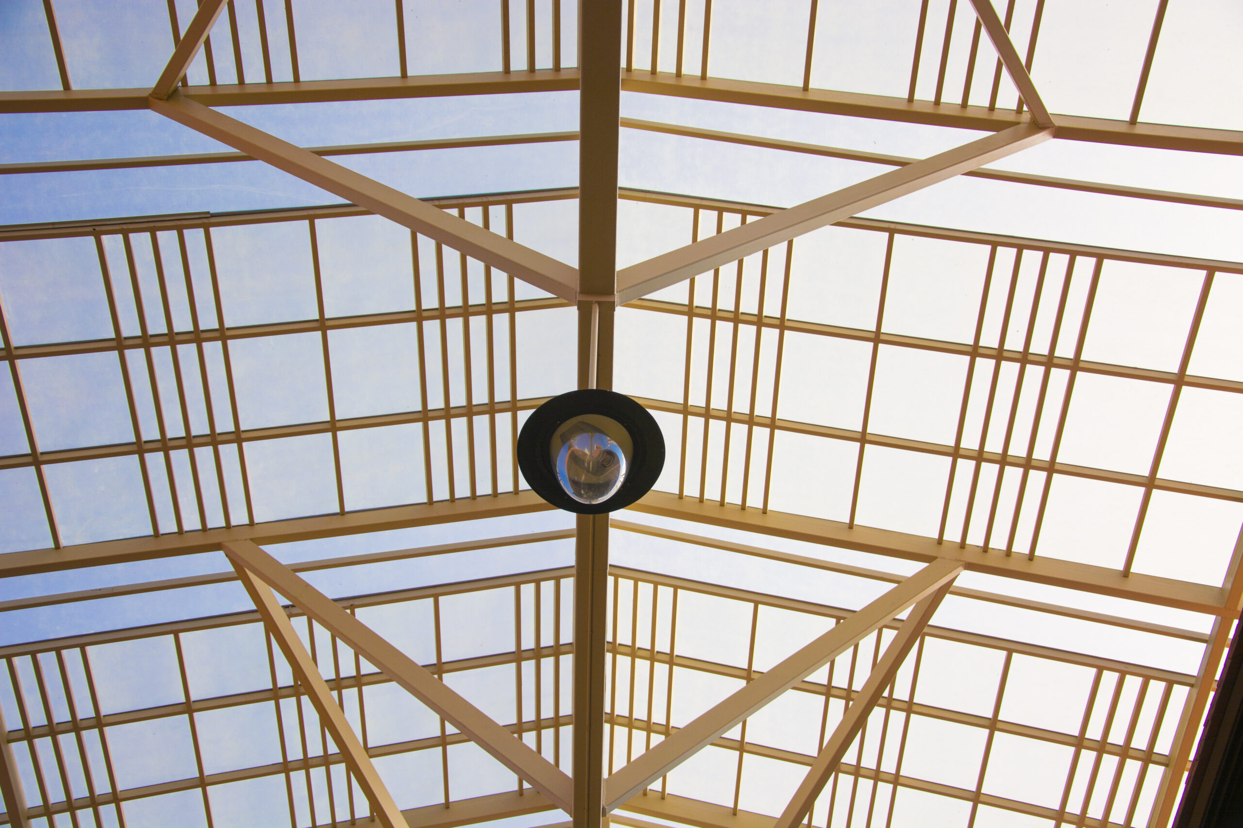 skylight roofing with materials like polycarbonate sheets
